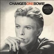 Click here for more info about 'David Bowie - Changesonebowie - 2nd + Stickered sleeve - EX'