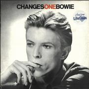 Click here for more info about 'David Bowie - Changesonebowie - Lifetimes Stickered sleeve'