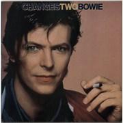 David Bowie Changestwobowie - EX UK vinyl LP