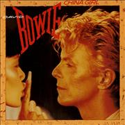 Click here for more info about 'David Bowie - China Girl - Solid Centre'