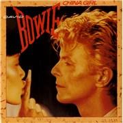 "David Bowie China Girl UK 7"" vinyl"