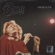 Click here for more info about 'David Bowie - Cracked Actor (Live Los Angeles '74) - RSD17 - Sealed'