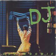 Click here for more info about 'David Bowie - D.J. + Sleeve - EX'