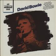 Click here for more info about 'David Bowie - David Bowie - Die Weisse Serie'
