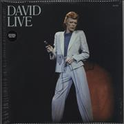 Click here for more info about 'David Bowie - David Live - 180gram Vinyl + Sealed'