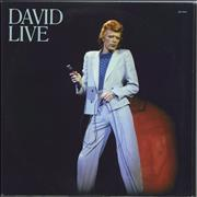 Click here for more info about 'David Bowie - David Live - 180gram Vinyl'
