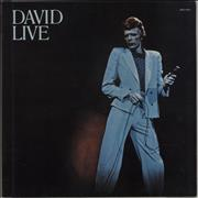 Click here for more info about 'David Bowie - David Live - Black Label'