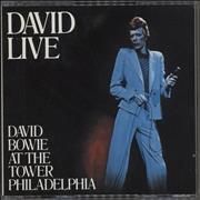 Click here for more info about 'David Bowie - David Live (David Bowie At The Tower Philadelphia)'