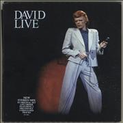 Click here for more info about 'David Bowie - David Live'
