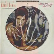 Click here for more info about 'David Bowie - Diamond Dogs + Certificate'