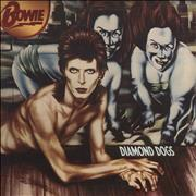 David Bowie Diamond Dogs - 1st - VG/EX UK vinyl LP