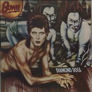 Click here for more info about 'David Bowie - Diamond Dogs - 2nd - No Stereo Label Credit'
