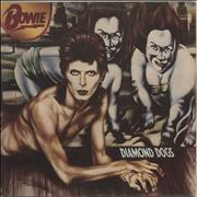 David Bowie Diamond Dogs - 1st - VG UK vinyl LP