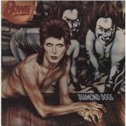 David Bowie Diamond Dogs Greece vinyl LP