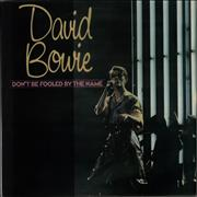 Click here for more info about 'David Bowie - Don't Be Fooled By The Name'