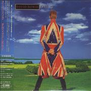 David Bowie Earthling - Limited Edition Japan CD album