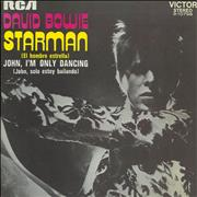 Click here for more info about 'David Bowie - El Hombre Estrella - Starman - Late 70s'