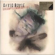 David Bowie Excerpts From Outside - Green Vinyl UK vinyl LP