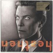 David Bowie Heathen - 180gram Orange Vinyl UK vinyl LP