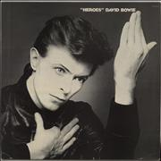 Click here for more info about 'David Bowie - Heroes - 1st (A) - Laminated - VG'