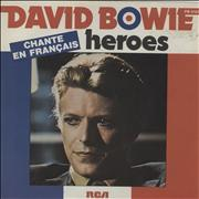 Click here for more info about 'David Bowie - Heroes - EX'