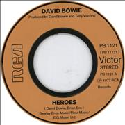 Click here for more info about 'David Bowie - Heroes - Jukebox'