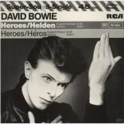 "David Bowie Heroes/ Helden - 1st Germany 12"" vinyl"