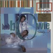 Click here for more info about 'David Bowie - Hours - 180gm Blue Vinyl + Numbered'
