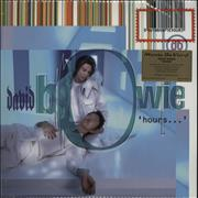 Click here for more info about 'David Bowie - Hours - Purple / Blue Vinyl + Numbered'