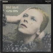 Click here for more info about 'David Bowie - Hunky Dory - 1st + insert - VG'