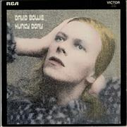 Click here for more info about 'David Bowie - Hunky Dory - 2nd + Insert - EX'
