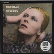 Click here for more info about ' - Hunky Dory - Gold Vinyl - Sealed'