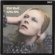 David Bowie Hunky Dory UK vinyl LP