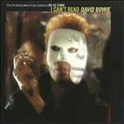 Click here for more info about 'David Bowie - I Can't Read'