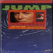 Click here for more info about 'David Bowie - Jump Interactive CD-Rom - Stickered shrink'