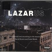 Click here for more info about 'David Bowie - Lazarus - Original New York Cast Recording'
