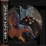 Click here for more info about 'David Bowie - Lets Dance + Lyric Insert & Obi'