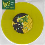 Click here for more info about 'Let's Dance - Yellow Vinyl'