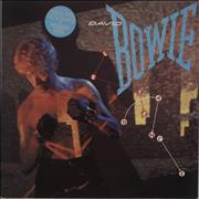 Click here for more info about 'David Bowie - Let's Dance - hype stickered p/s'