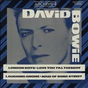 Click here for more info about 'David Bowie - London Boys'