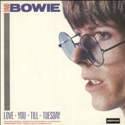 Click here for more info about 'David Bowie - Love You Till Tuesday - Ex'