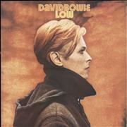 Click here for more info about 'David Bowie - Low - 1st + Insert - EX'