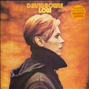 Click here for more info about 'David Bowie - Low - 1st + Insert - Stickered - EX'
