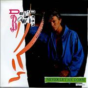 Click here for more info about 'David Bowie - Never Let Me Down'