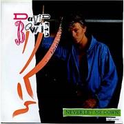 """David Bowie Never Let Me Down UK 7"""" vinyl"""