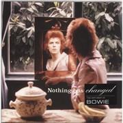 David Bowie Nothing Has Changed UK 2-LP vinyl set