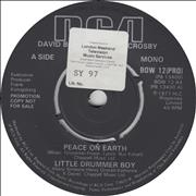 Click here for more info about 'David Bowie - Peace On Earth / Little Drummer Boy - LWT Stickered'