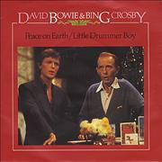 Click here for more info about 'David Bowie - Peace On Earth / Little Drummer Boy - P/S'