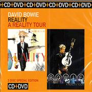 Click here for more info about 'David Bowie - Reality / A Reality Tour'