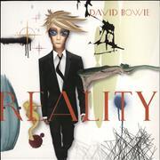 Click here for more info about 'David Bowie - Reality - Black 180 Gram Vinyl'